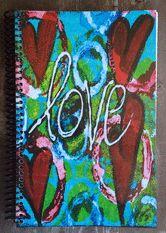Notebooks - Kathleen Tennant Mixed Media Art