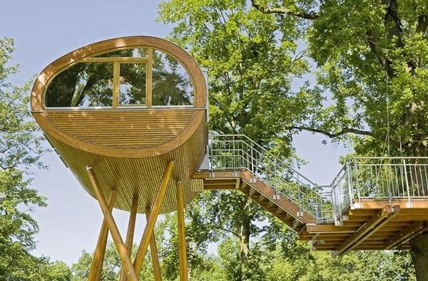 Curious Places: Baumraum's World of Living Tree House (Rheinau-Linx/ Germany)