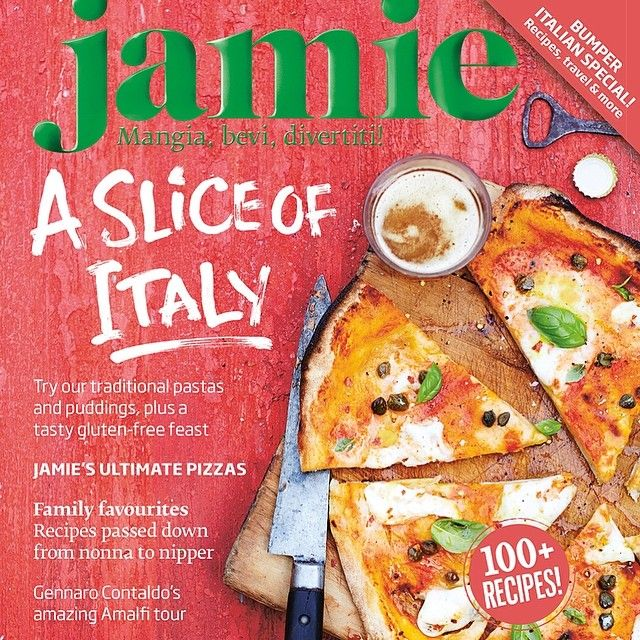 "@Jamie Oliver's photo: ""check it out the new issue of @Jamie Magazine is out today! its our bumper Italian special with loads of brilliant recipes perfect for this weekend! You can pick one up from the shops or download our ipad app! enjoy guys Love #JamieOliver"""
