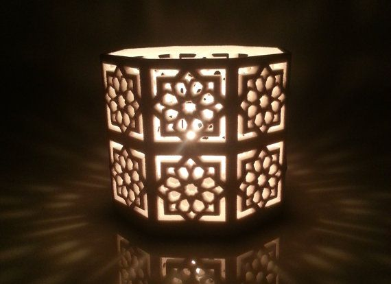 My Tall Islamic Star Knot Lantern.  Etsy listing at https://www.etsy.com/listing/196694282/tall-islamic-star-lantern-original-tee