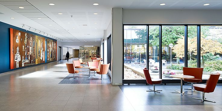 Östra sjukhuset - huvudentré | Semrén & Månsson