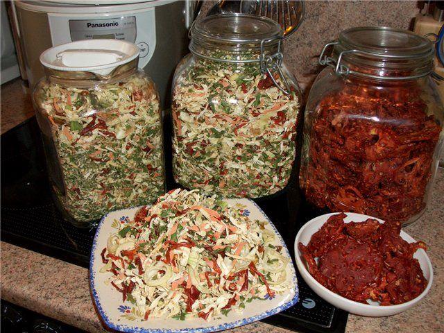 Заготовки сушеной суповой зелени | Кулинарный ежедневник У Ромы
