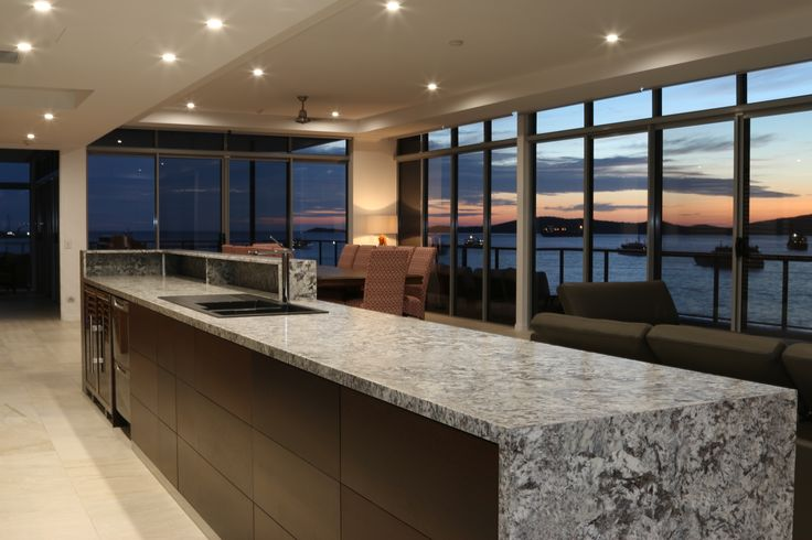 Offshore Penthouses - Lennon Brushed kitchen bench top