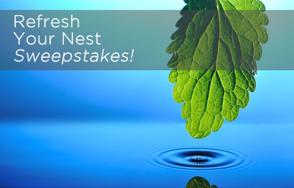 Refresh Your Nest Sweepstakes!: Wonder Products, System Values, Nests Sweepstak, Book Worth, Enter Today, Fun Stuff, Giveaways Contest, Clean System, Starpuls Photo