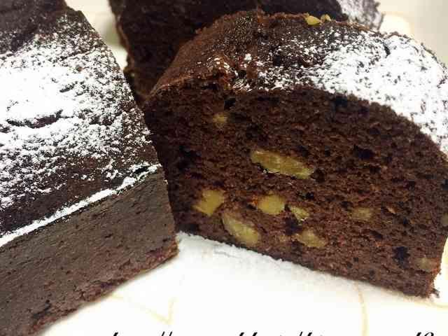 【糖質制限中】おからココアパウンドケーキの画像