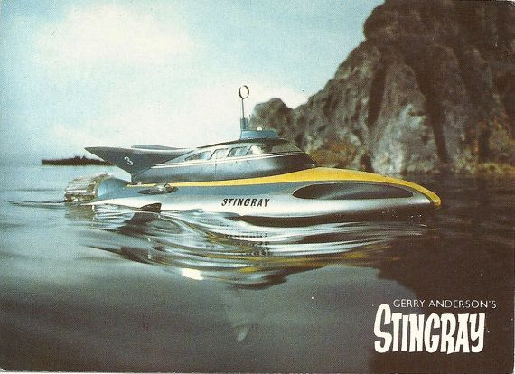 Gerry Anderson's Stingray British TV Series 1960s Sci-Fi