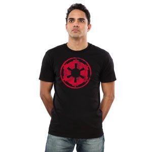 Imperial Logo T-shirt - for you dark side fanatics...  #starwars #StarWars #sw7x7