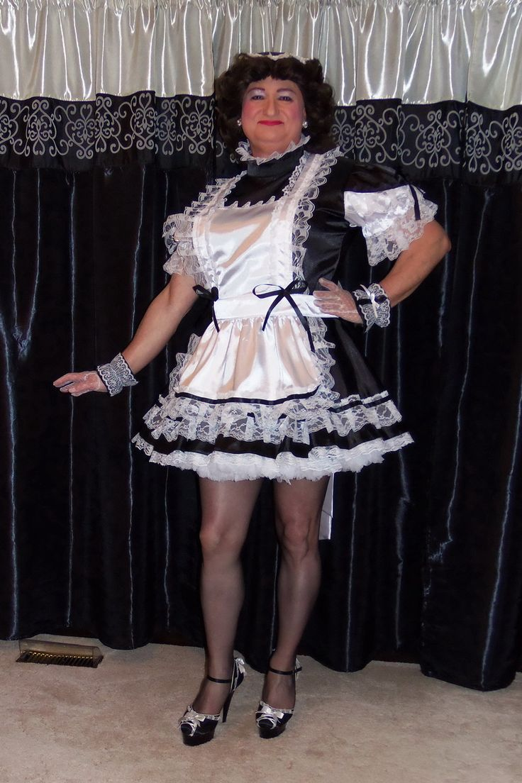 G2165 Satin French Maid Uniform From Aym Cosplay The