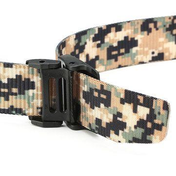 120CM Unisex Men Women Nylon Camouflage Belt Military Tactical Durable Buckle Pants Strip at Banggood