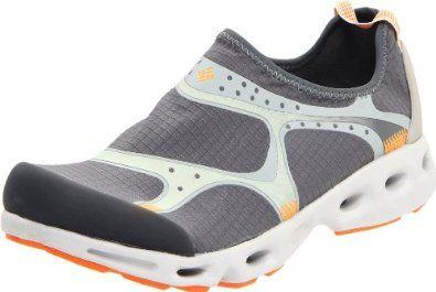Columbia Men's Drainsock Water Shoe,Charcoal/Valencia,10 M US Columbia. $69.99