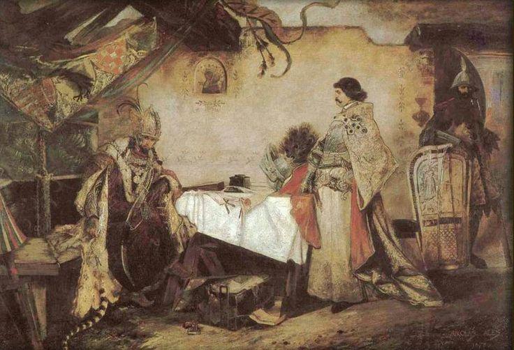 Setkání Jiřího z Poděbrad s Matyášem Korvínem - Mikoláš Aleš – Wikipedie