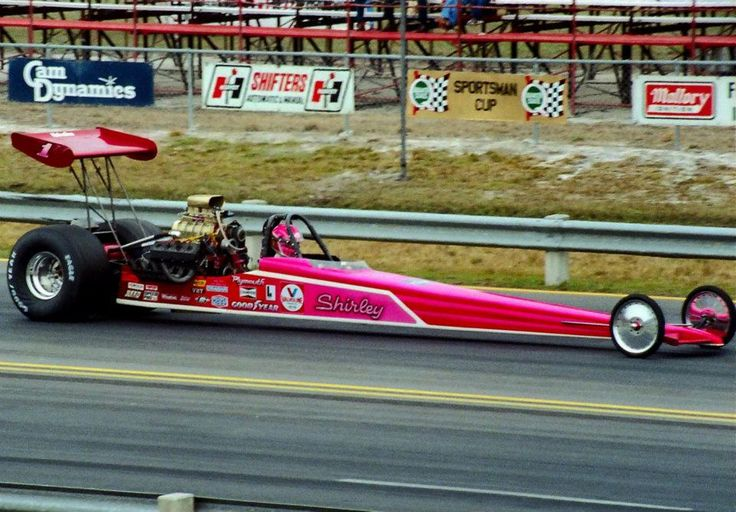 Shirley Muldowney Rear Engine Dragster