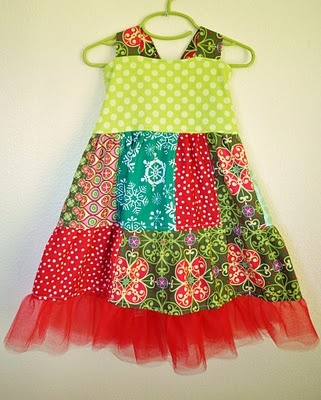 patchwork dress painting inspiration-pink background