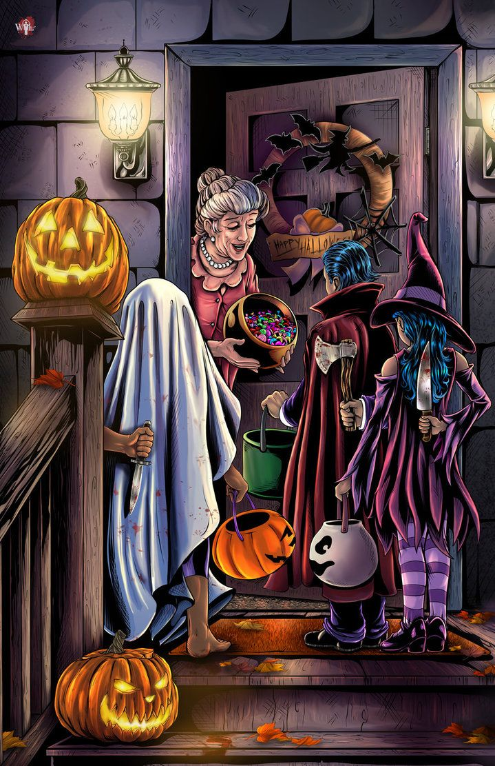 Halloween- Tricked by WiL-Woods on DeviantArt
