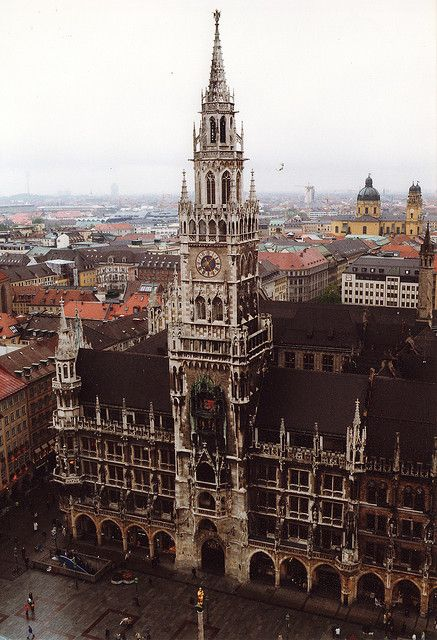Germany- Munich Neues Rathaus- friend works here so cool!