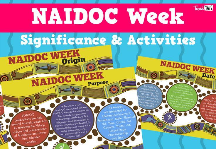 NAIDOC Week Significance & Activities                                                                                                                                                      More