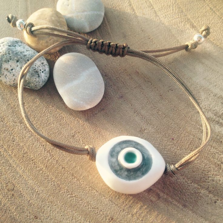 Danijewellery ceramic bracelet with silver