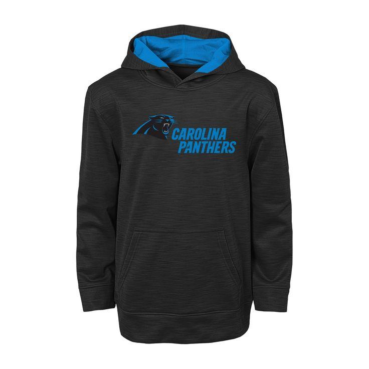 Carolina Panthers Activewear Sweatshirt XS, Boy's, Multicolored