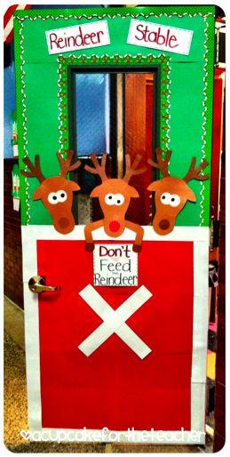 Next year's classroom door!  A Cupcake for the Teacher: freebie