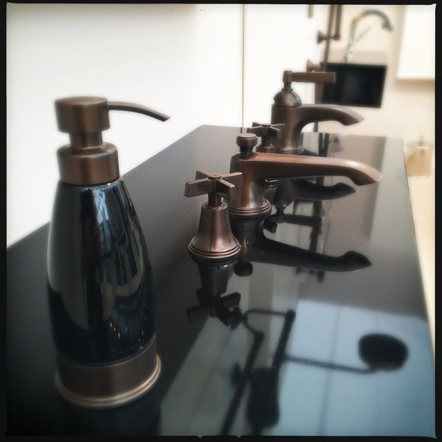 Website With Photo Gallery Beautiful Bronze plated accessories and taps at Samuel Heath