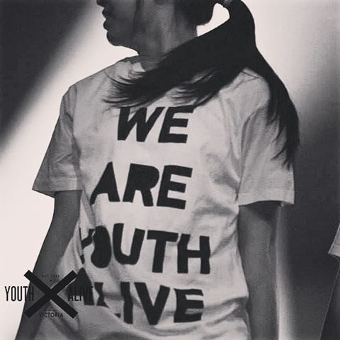 """""""Flash back to an old design we printed! @youthalivevic  #youthalive"""""""