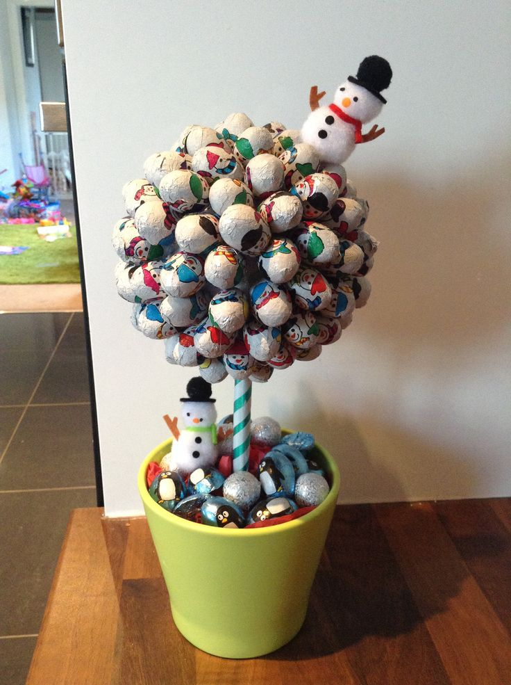 Chocolate snowman sweetie tree