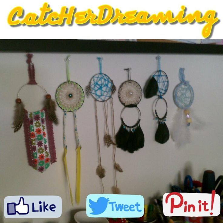 CatcHerDreaming Original Facebook Page: facebook.com/CatcHerDreaming $7 -- Multi-Variety Dream Catchers