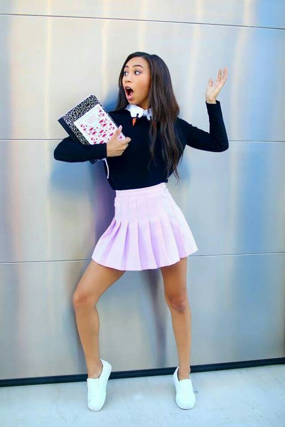 Where did she get her skirt from because I NEED one