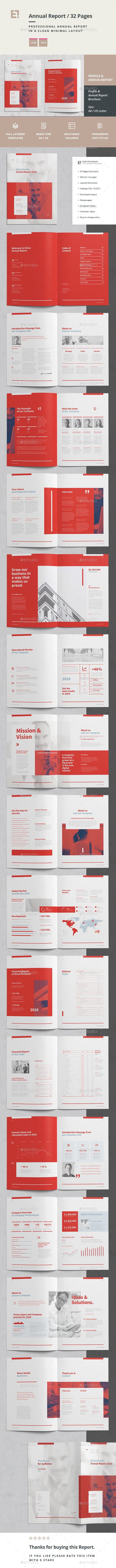 Annual Report — InDesign INDD #proposal #modern • Download ➝ https://graphicriver.net/item/annual-report/21456410?ref=pxcr