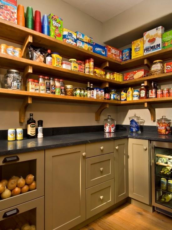Pantry Design: Walks In Pantries, Butler Pantries, Open Shelves, Dreams Pantries, Kitchens Design, Pantries Design, Pantries Ideas, Kitchens Pantries, Modern Kitchens