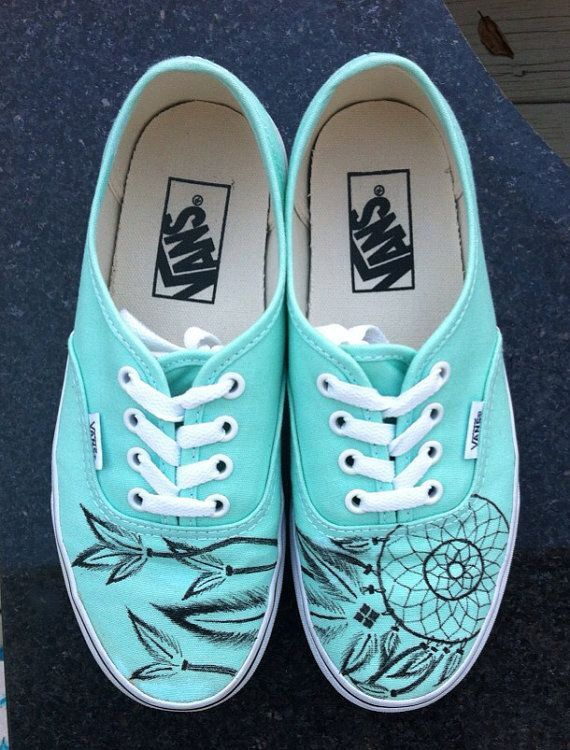 There are 5 tips to buy these shoes: vans blue vans dreamcatcher teal dreamcatcher  dream catcher vans of the wall mint green pastel trainers cool vans blue ...