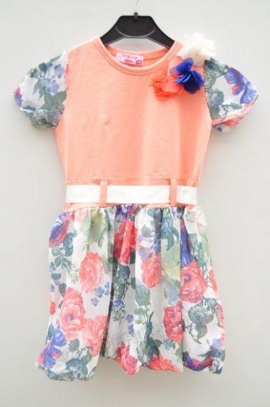 Sukienka dziewczęca ONL0156  _D7 (92-128)