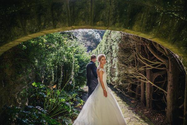 Love this wedding at Milton Park