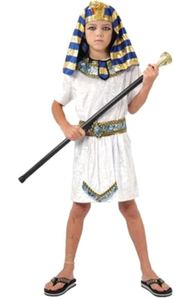 Egyptian Pharaoh Costume for Yannick if he likes it.