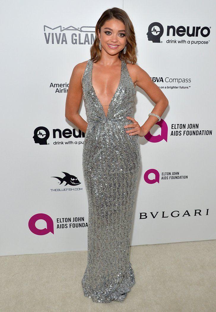 Pin for Later: Les Stars S'éclatent à la Soirée Organisée Par Elton John Pour les Oscars Sarah Hyland