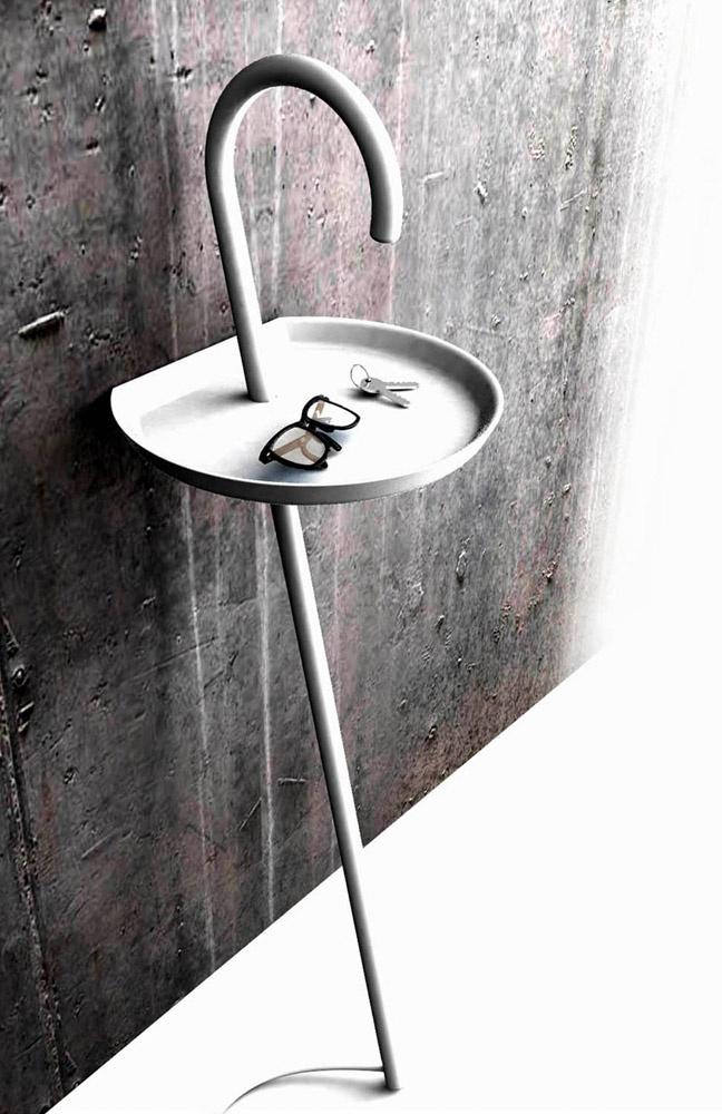 Lampade da terra: Lampada Clochard dI @Alicia T Martinelli luce | Design: Orlandini Design | Anno: 2013 | Novità di Euroluce2013!