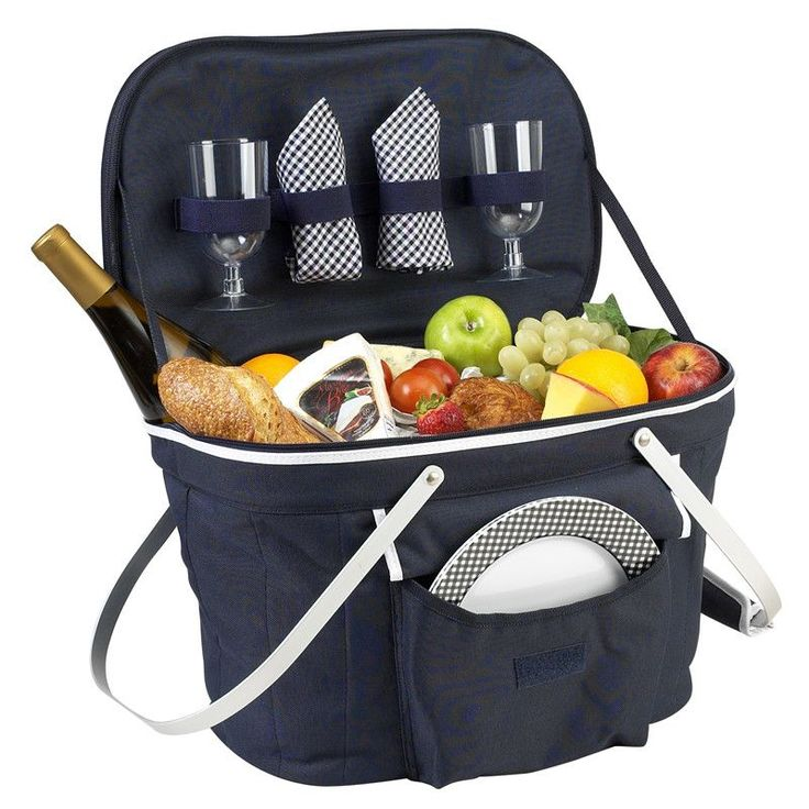 Collapsible Insulated Picnic Basket   #The #Trellis