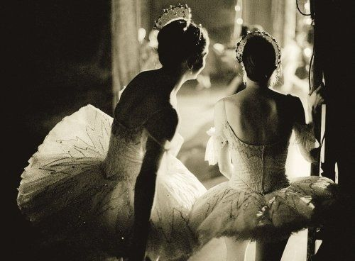 ballet - in the wings.. the best feeling is right there on that stage.