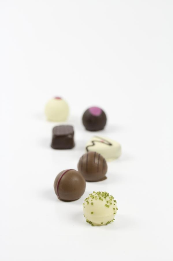 Ręcznie robione pralinki przez najlepszych czekoladników z Europy.