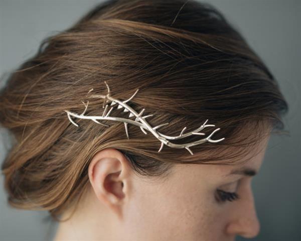 3ders.org - 'Made by hand & machine': Kasia Wisniewski designs stunning 3D printed bridal accessories | 3D Printer News & 3D Printing News