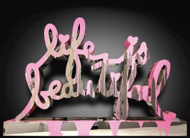 Mr. Brainwash, Life is Beautiful (2015).  Photo: artnet.
