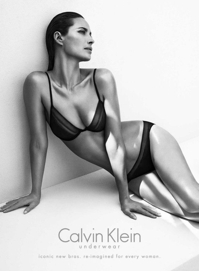 Christy Turlington for Calvin Klein Underwear campaign