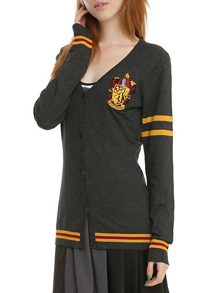 Wear This Harry Potter Gryffindor Cardigan For Casual Daily Wizarding Walks