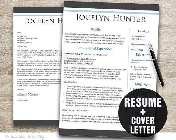 21 best Cover Letters images on Pinterest Resume cover letters - cover letter for teachers resume