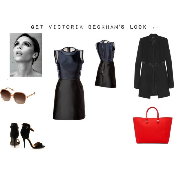 """""""Victoria Beckham - As a Designer"""" by thewhiteboard on Polyvore"""