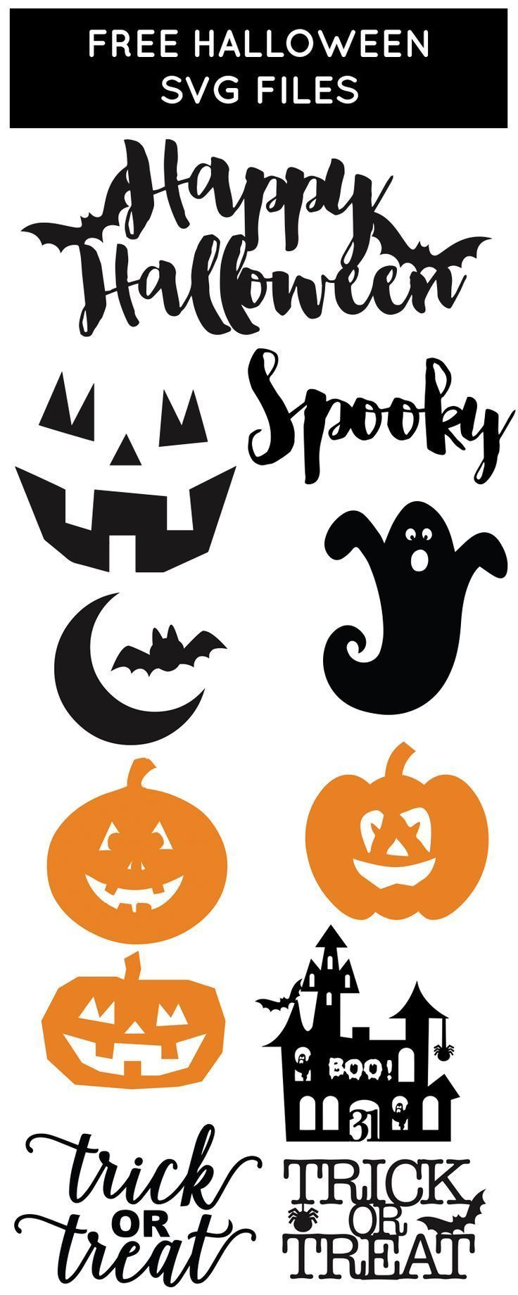 Free SVG Files for Halloween from @chicfetti