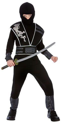 Elite-Ninja-Boys-Fancy-Dress-Japanese-Warrior-Fighter-Kids-Childs-Costume-Outfit