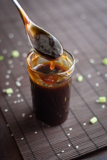 This easy teriyaki sauce recipe is made with only healthy pantry staples! It is so simple to whip up you will wonder why you ever bought teriyaki sauce!
