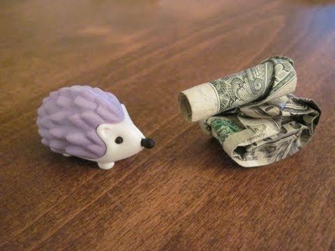Fold a tank out of a one dollar bill. – #bill #Dol…