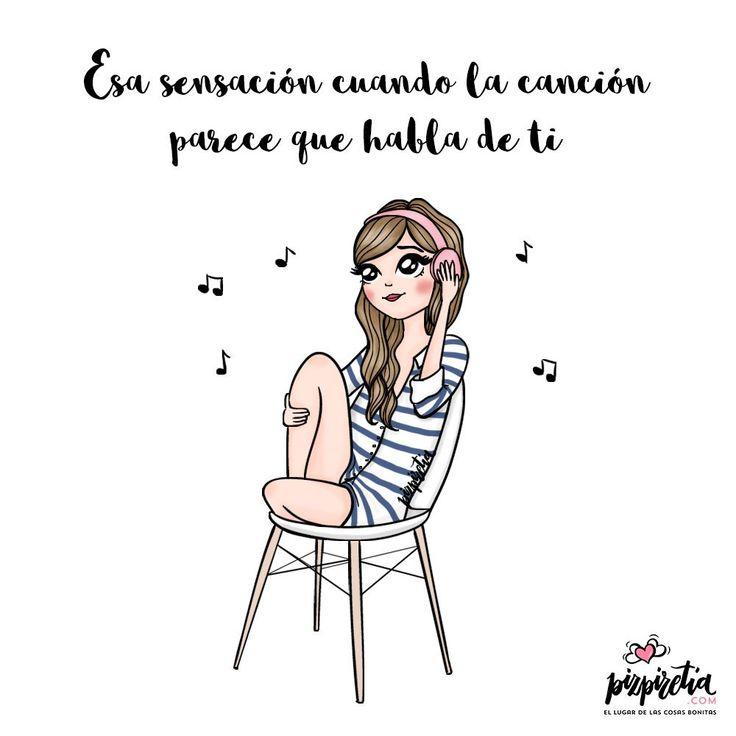 A veces las canciones se convierten en sentimientos y hablan de ti mejor que tú mismo ¡Qué vivan las canciones que te remueven el alma!
